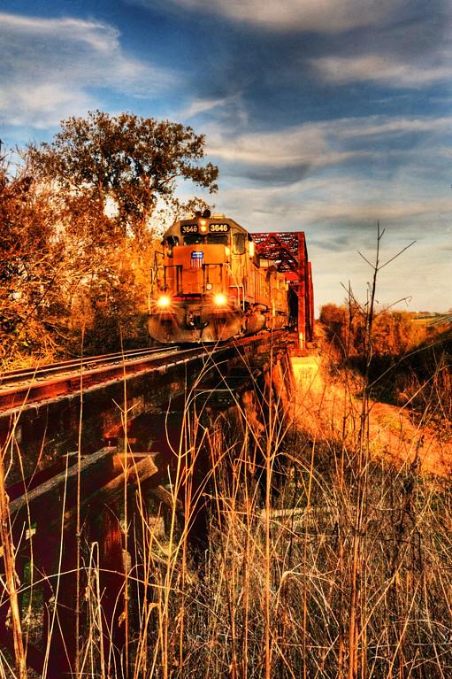 Crossing the Brazos (I-10, Texas)