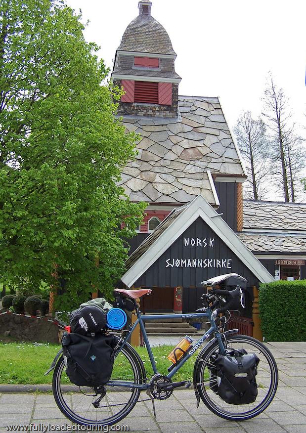 292  Fred - Touring Belgium - Surly Long Haul Trucker touring bike