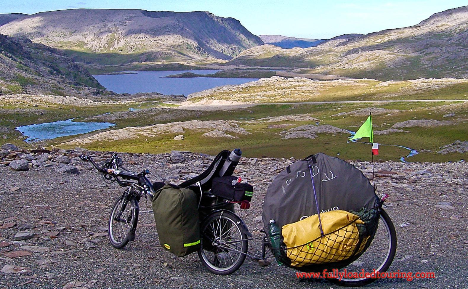 356    Bartek - Touring Norway - Mistral Challenge touring bike
