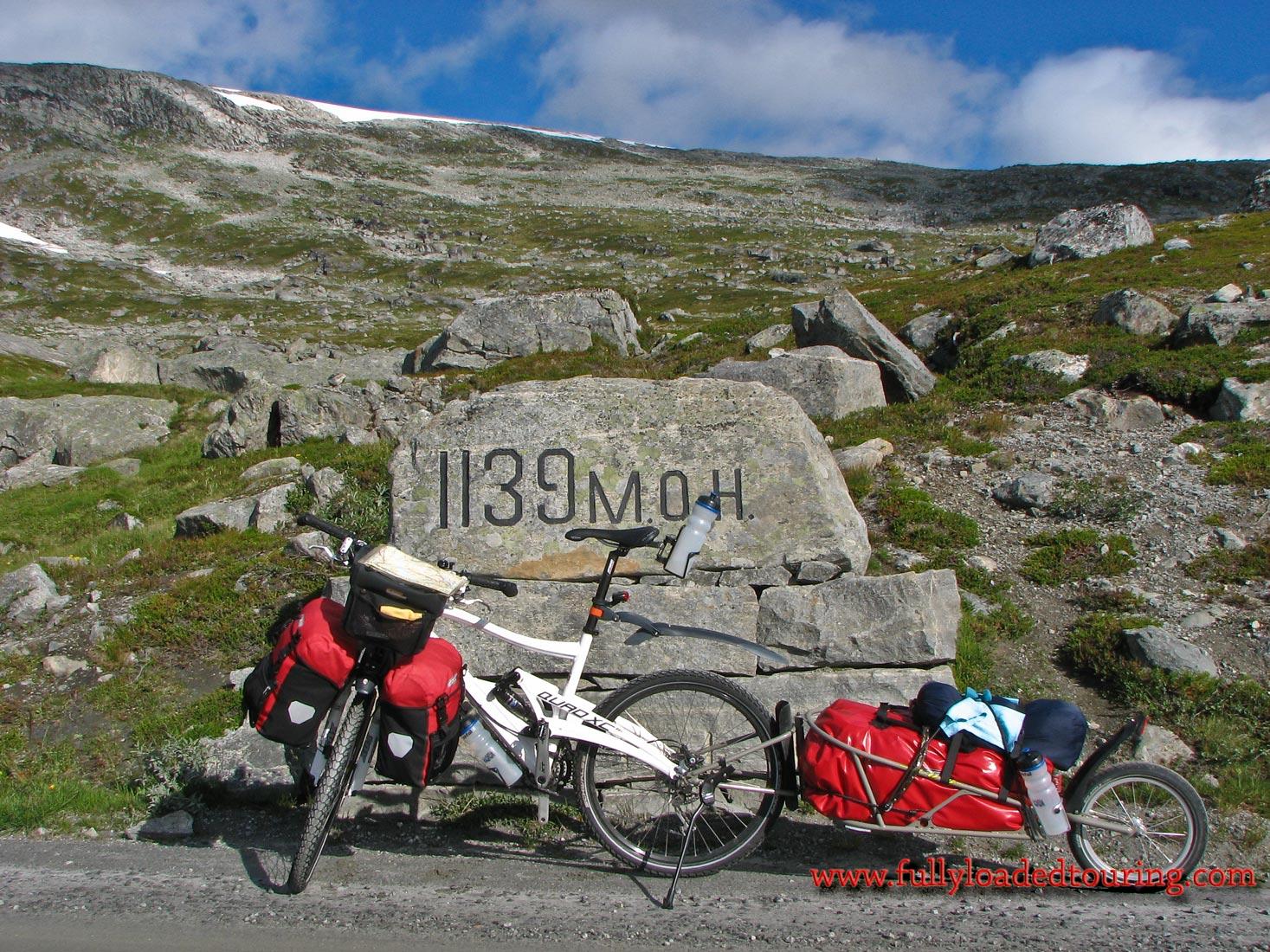 360    Poul - Touring Norway - Marin Mount Vision touring bike
