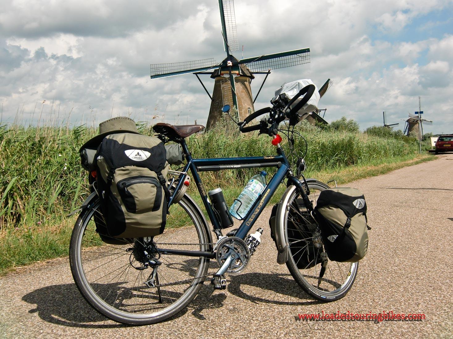 367    Dom Touring The Netherlands - Koga Miyata Traveller touring bike