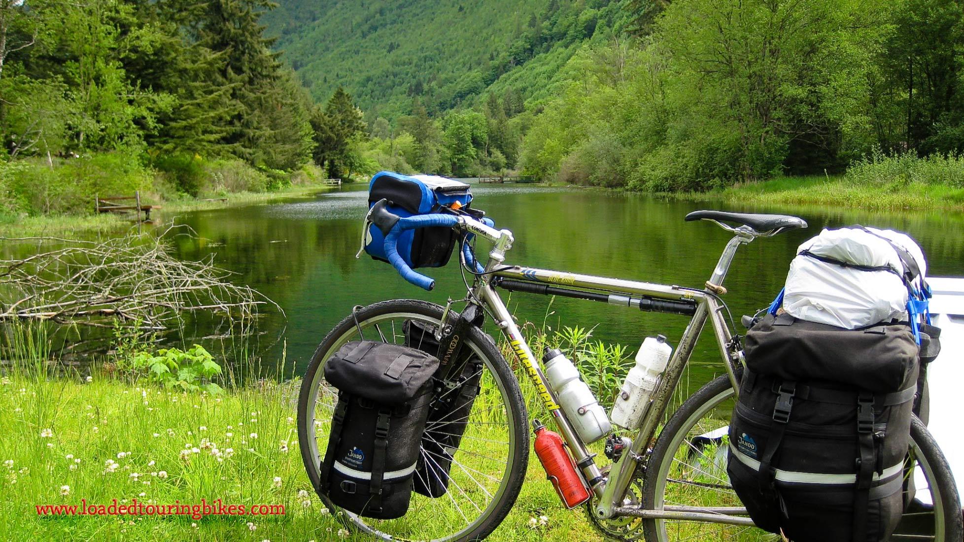 366    Mike Touring Washington - Litespeed Blue Ridge touring bike
