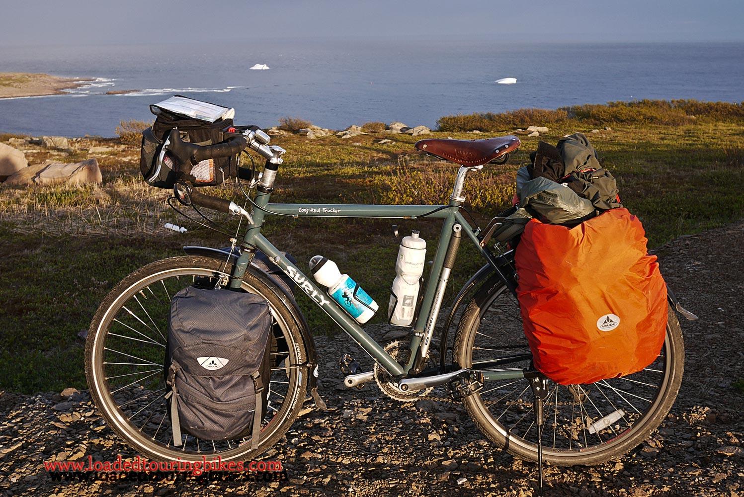 370    Babtiste Touring Labrador - Surly Long Haul Trucker touring bike