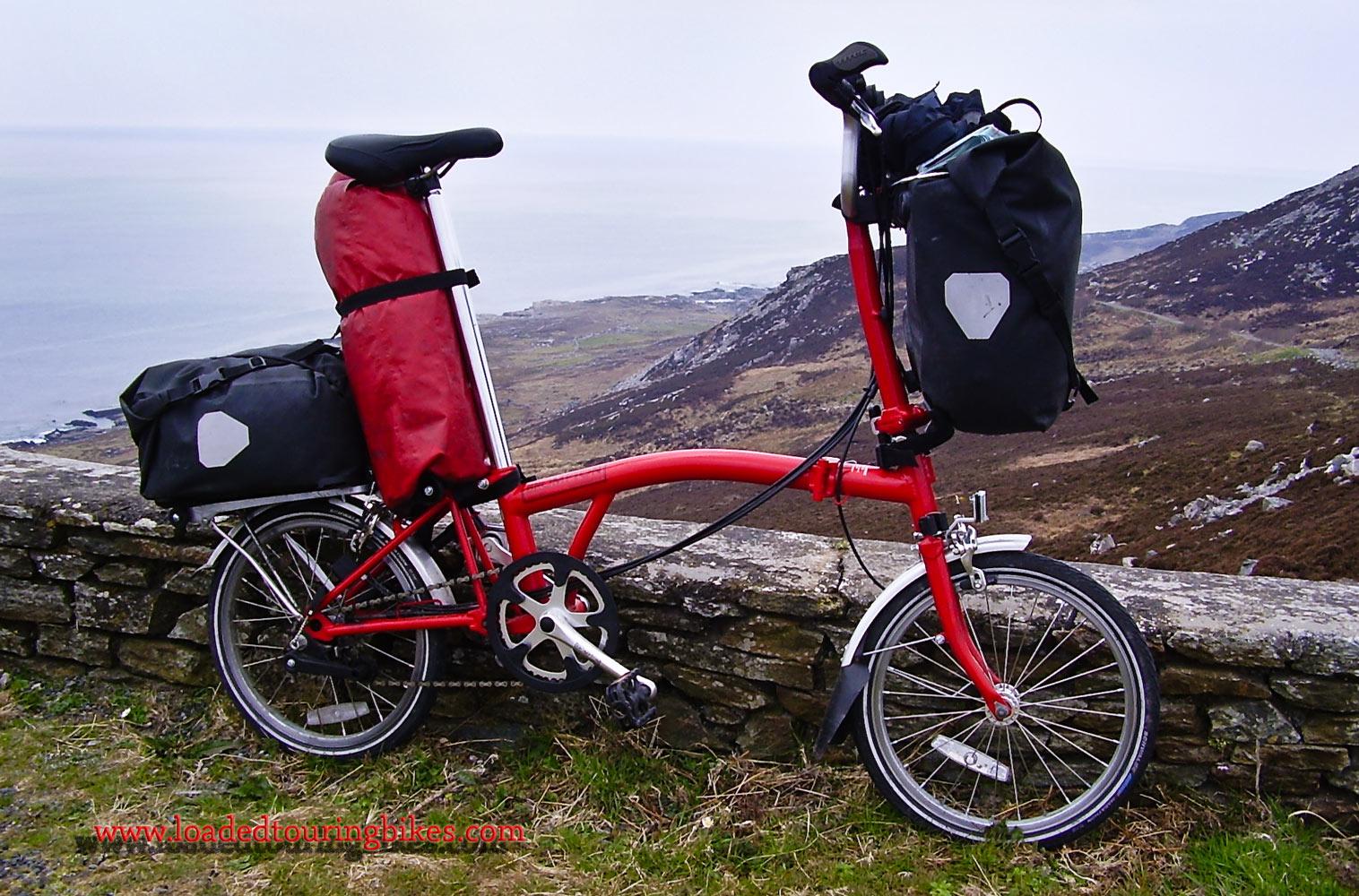 371    Stuart Touring Ireland - Brompton ML6 touring bike