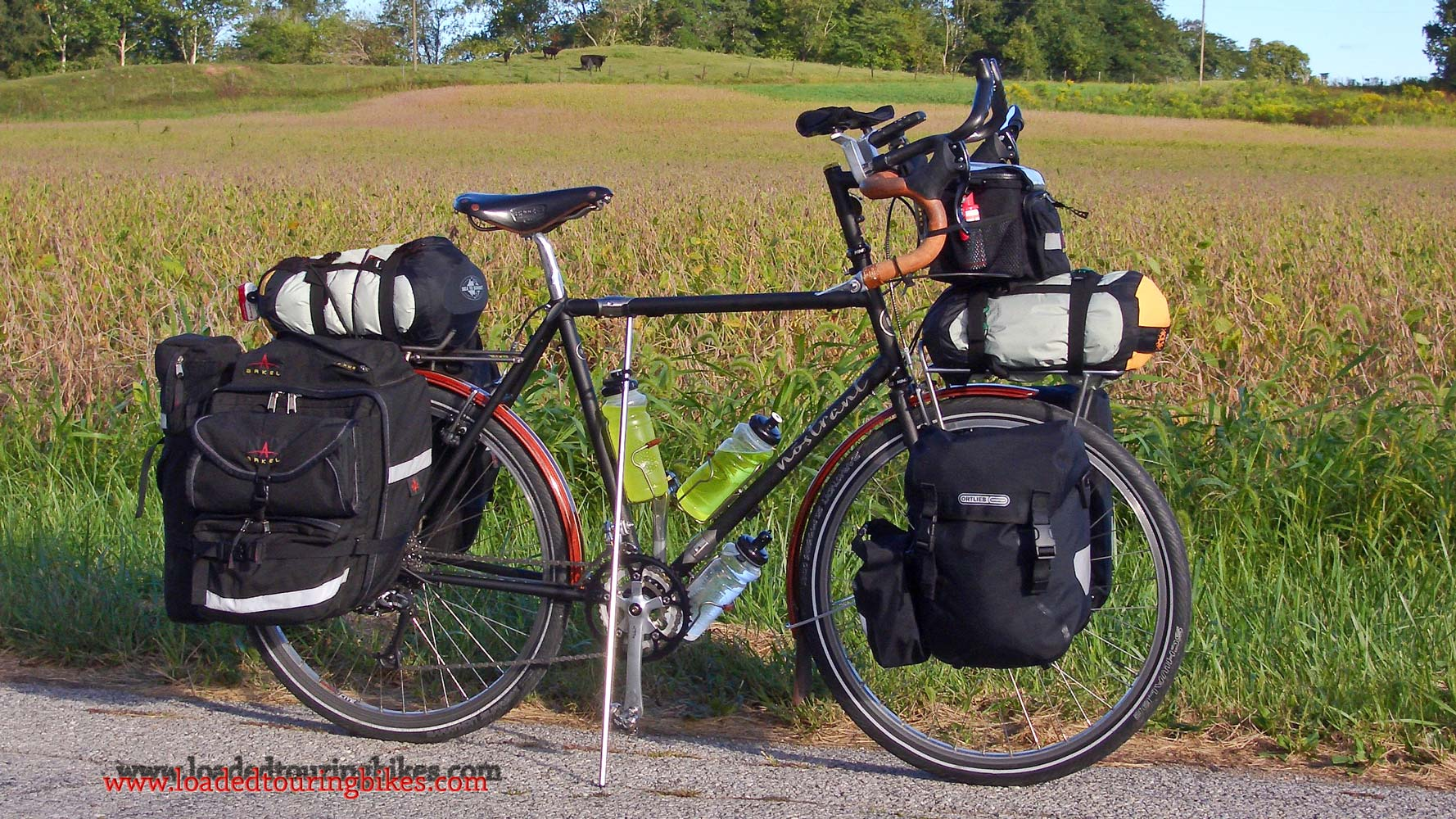 379    Tom touring Indiana - Nostrant Touring touring bike