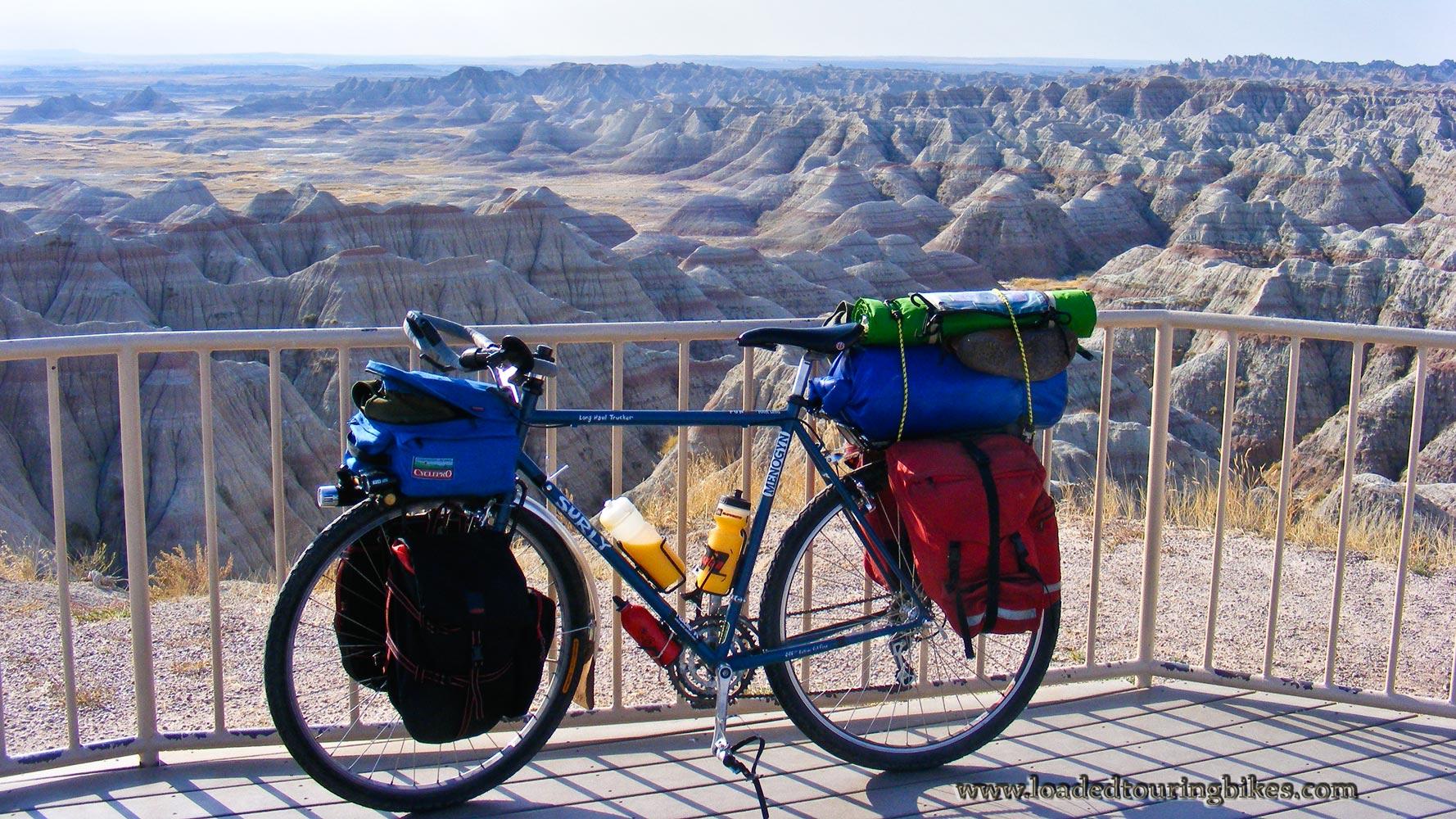 403   Leo touring South Dakota - Surly Long Haul Trucker touring bike