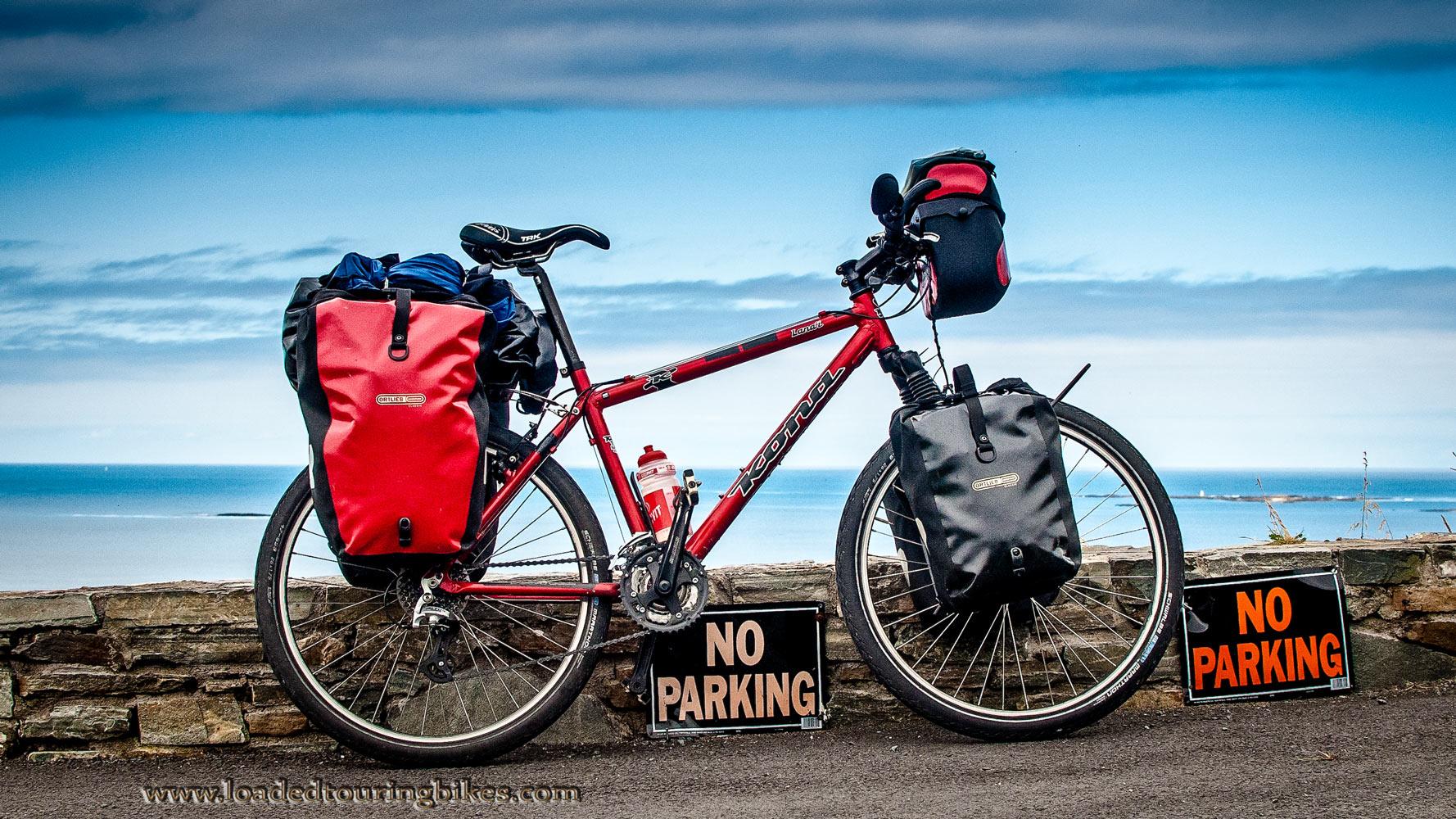 434    Fulvio touring Ireland - Kona Lanai touring bike