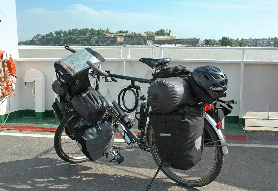 168   Darryl - Touring France - Rando-Cycles Touring touring bike