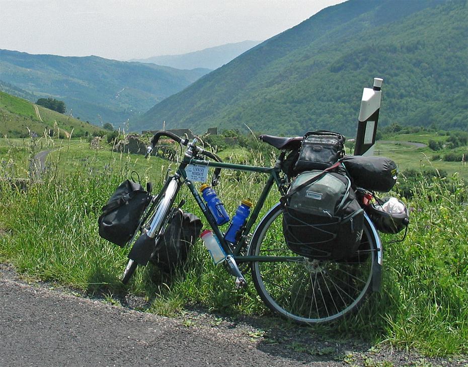 171  Kenneth - Touring France - Thorn Club Tour touring bike