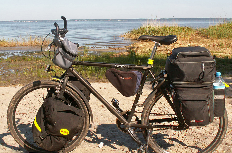 175  Robert - Touring Poland - Unknown 200A touring bike
