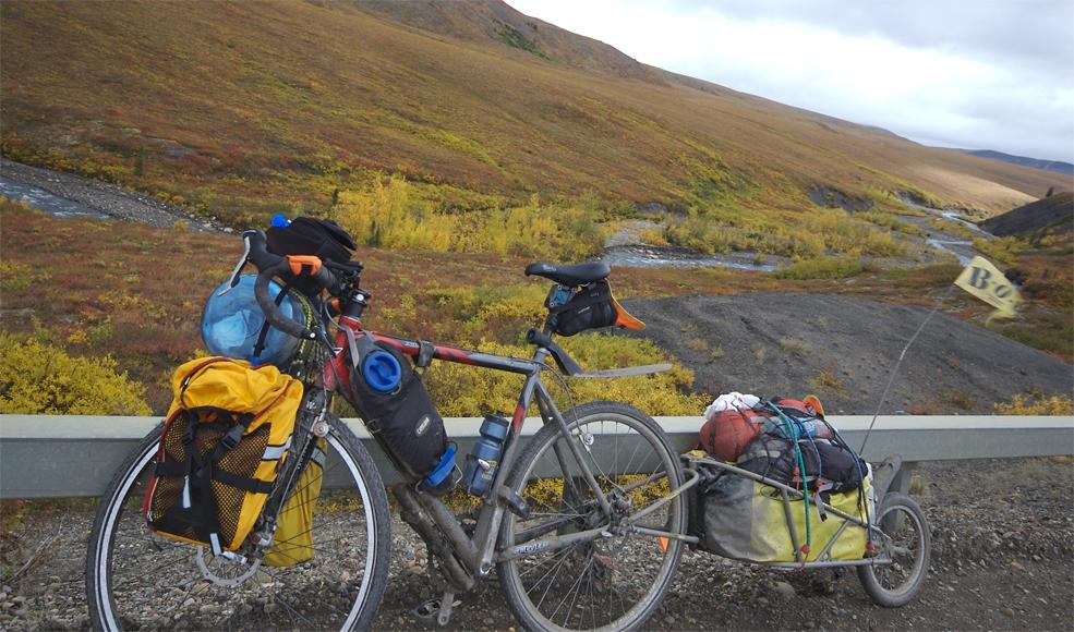 178  Pat - Touring through the Northwest Territories - Flyte XLS3 touring bike