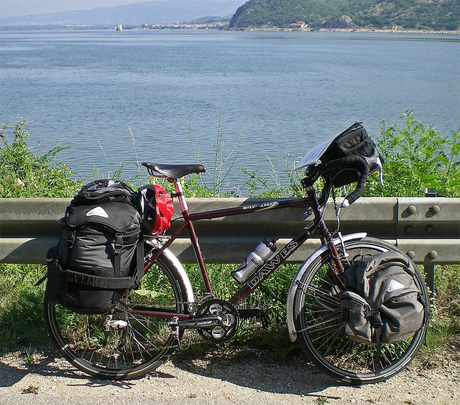 201  Rob - Touring Serbia - Dawes Sardar touring bike