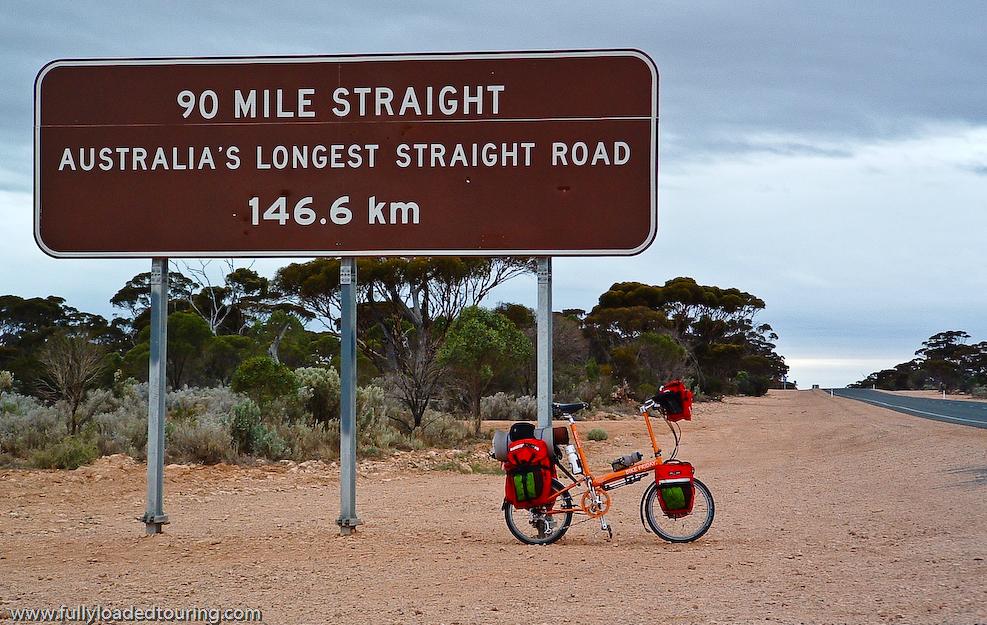286    Kyle - Touring Australia - Bike Friday Pocket Llama touring bike