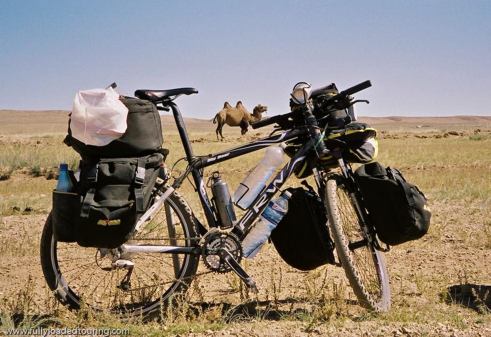 289    Sergio - Touring Mongolia - FRW Big Bear touring bike
