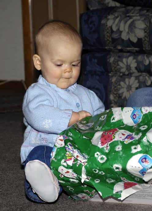 Rebeccas First Christmas