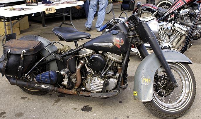 Old Harley-Davidson