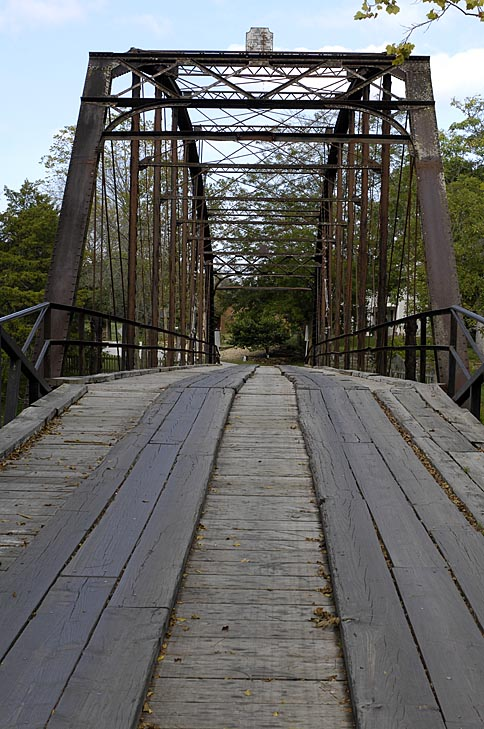 Color of the Bridge at War Eagle Mill