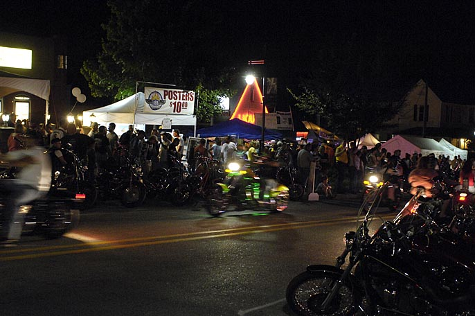Night Rally Photo