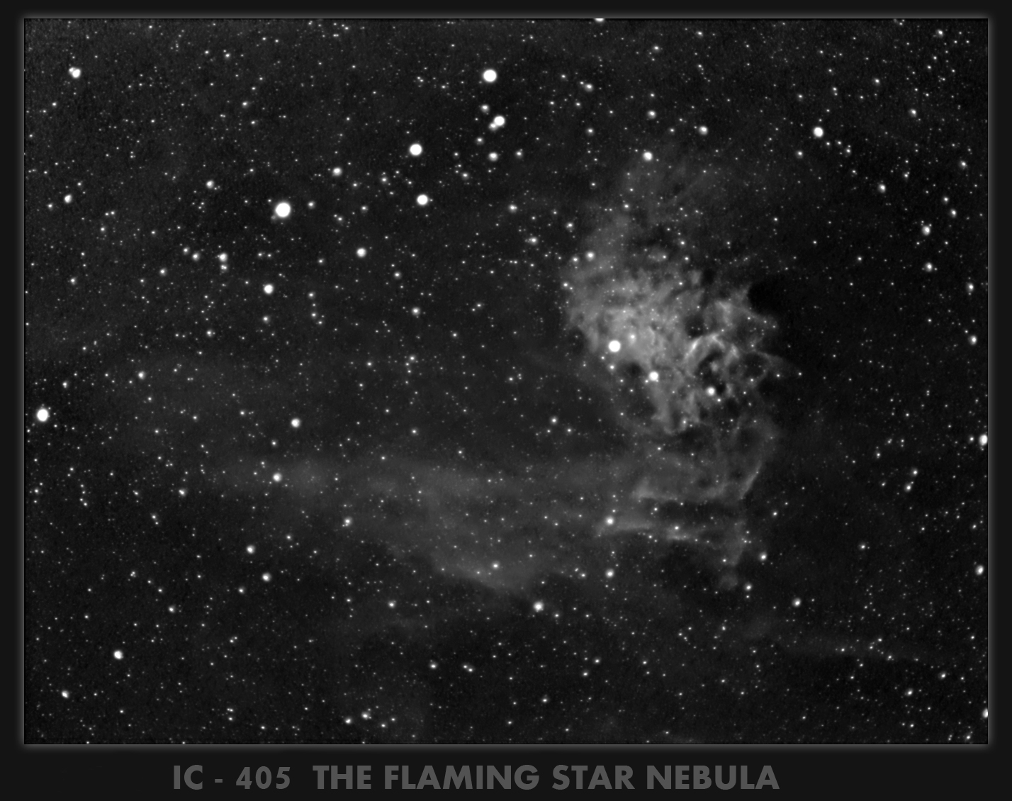 THE FLAMING STAR IN HA
