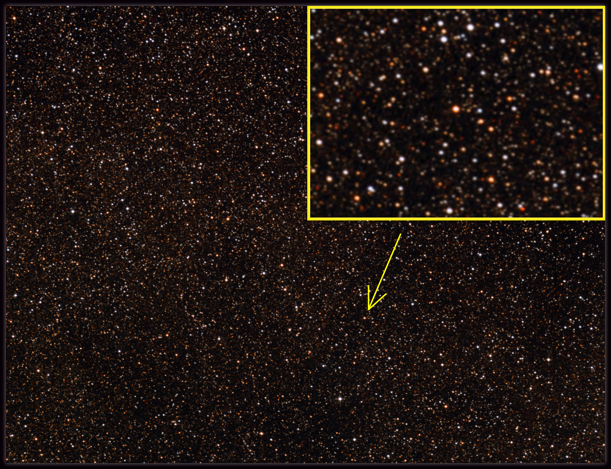 Proxima Centauri  - the nearest star to the sun