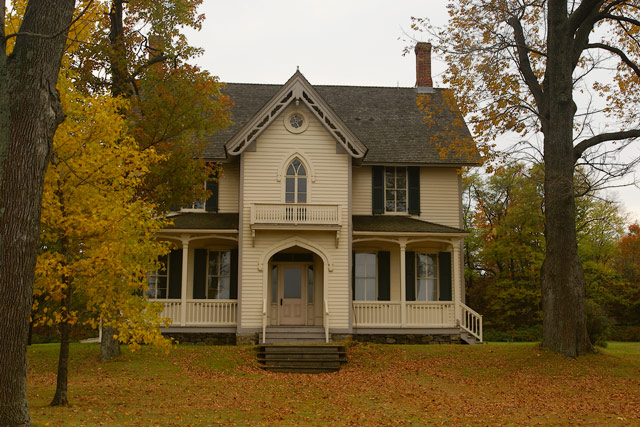 Eckley Village in Fall