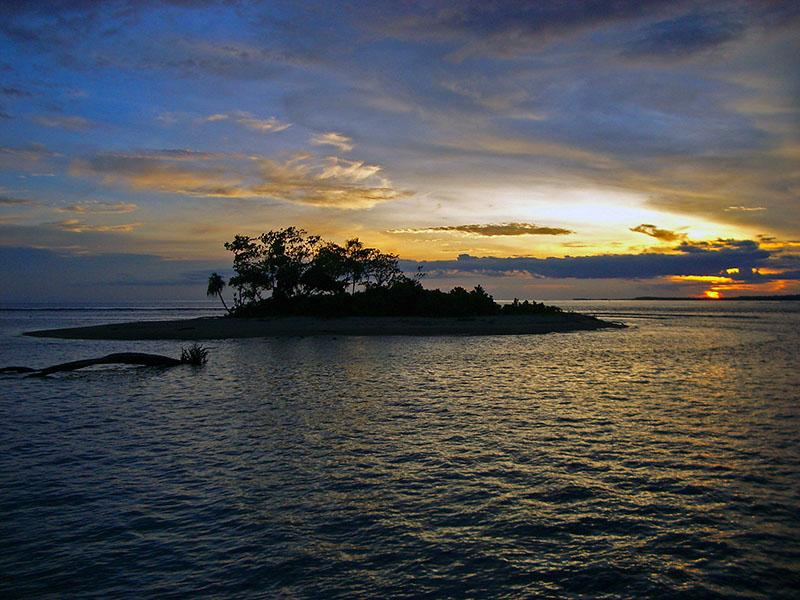 Island Sunset 2