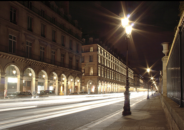 Rivoli street at Paris