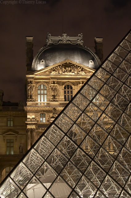 Le Louvres Museum and Pyramid