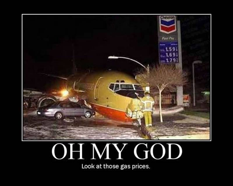 Look at the gas price...