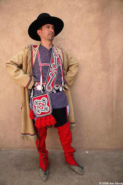 Charles Ingram in clothing by Jerry Ingram