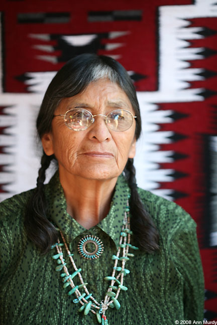 Frances Begay Navajo Rug Weaver