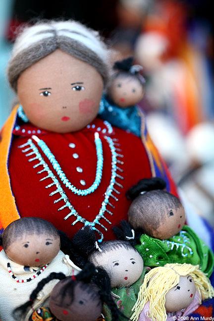 Dolls by Sylvia Begaye