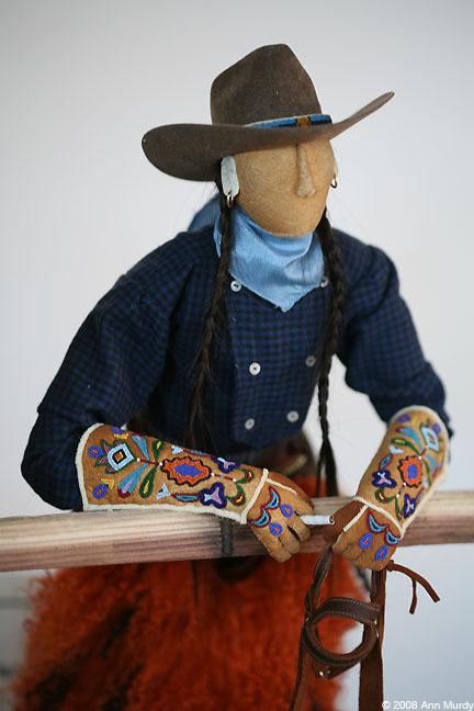 Indian Cowboy by Jamie Okuma