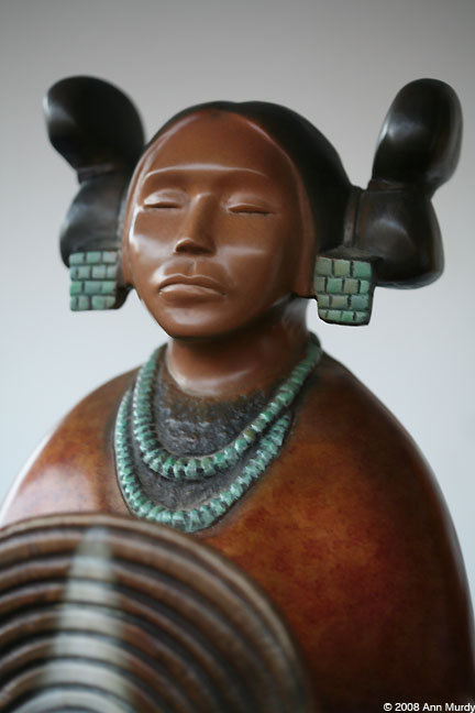 Hopi Maiden by Evelyn Fredericks