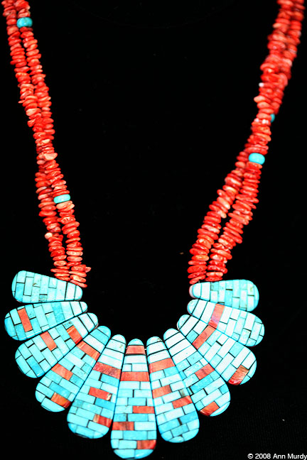 Necklace by Charlene Sanchez-Reanos