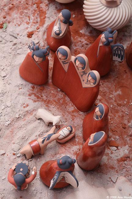 Jemez Nativity by Maxine Toya