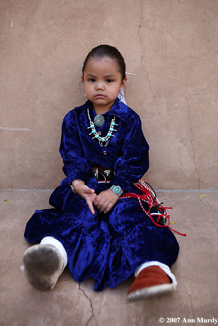 Skye Teasyatwho, Navajo