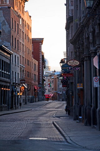 Old Montreal - Early Morning