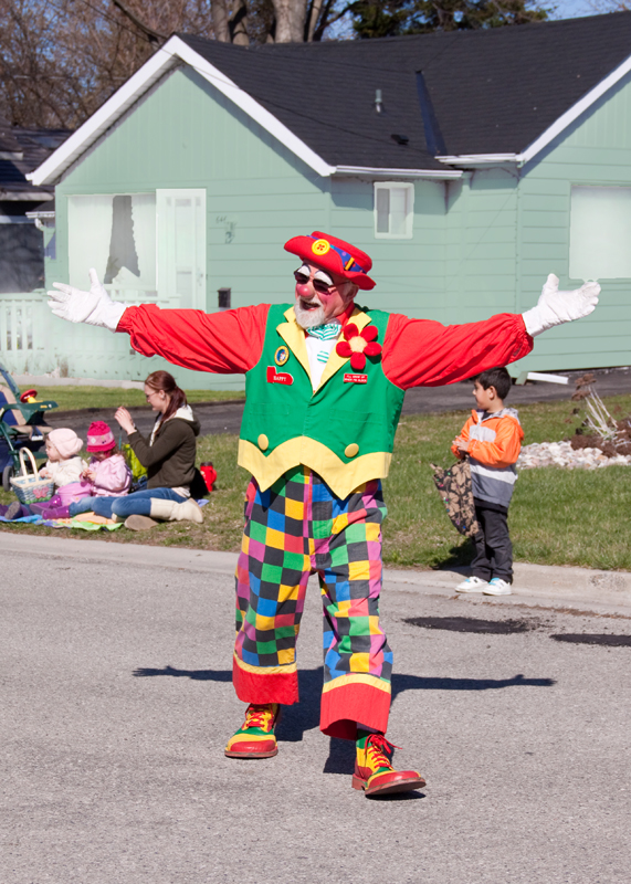 A Clown on Parade