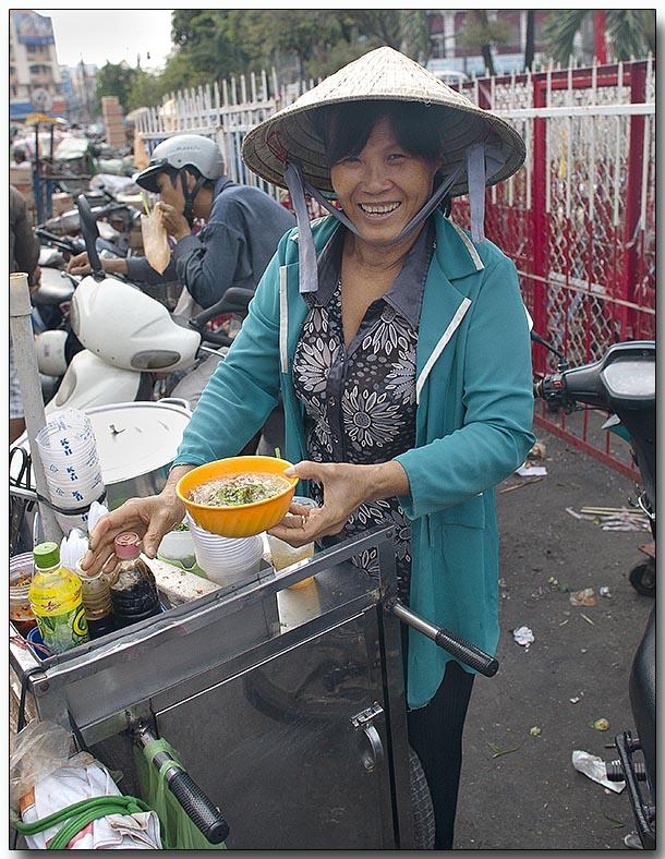 Vietnamese Pho (rice noodle soup) - HCM