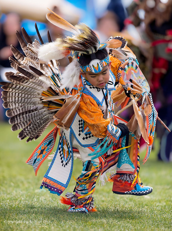 Young Native American Warrior