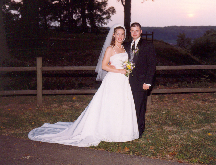 Gretchen & Greg  Wedding July 20 2002