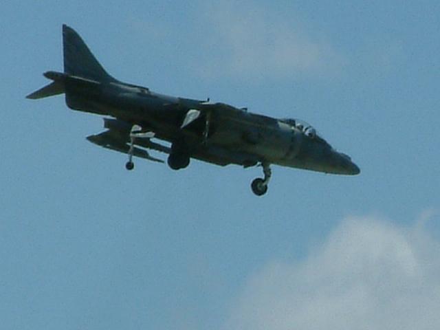 Harrier Demo, Springfield, IL Airshow Mar 05