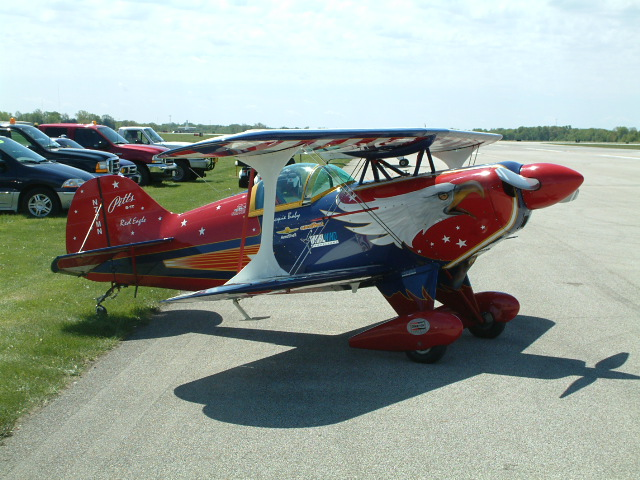 Jackie Bs Pitt Special, Springfield, IL Airshow Mar 05
