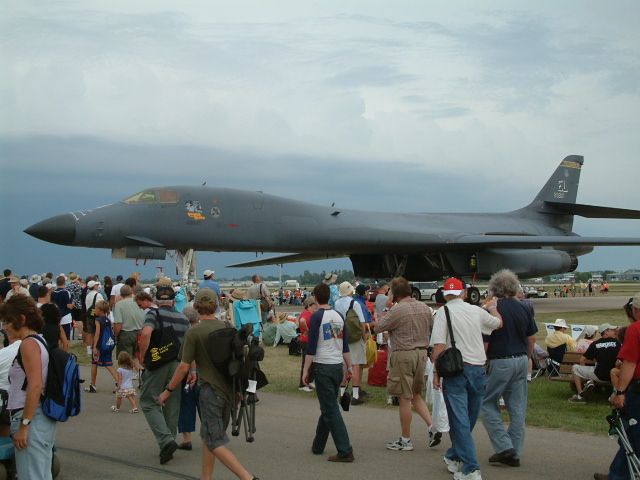 B1B Lancer at Oshkosh 06