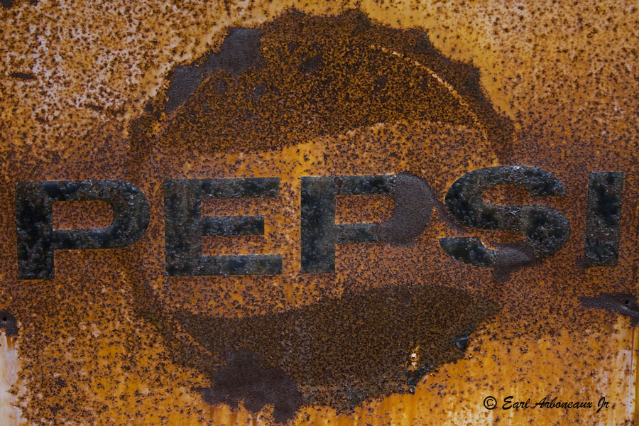 Old Rustic Pepsi Sign