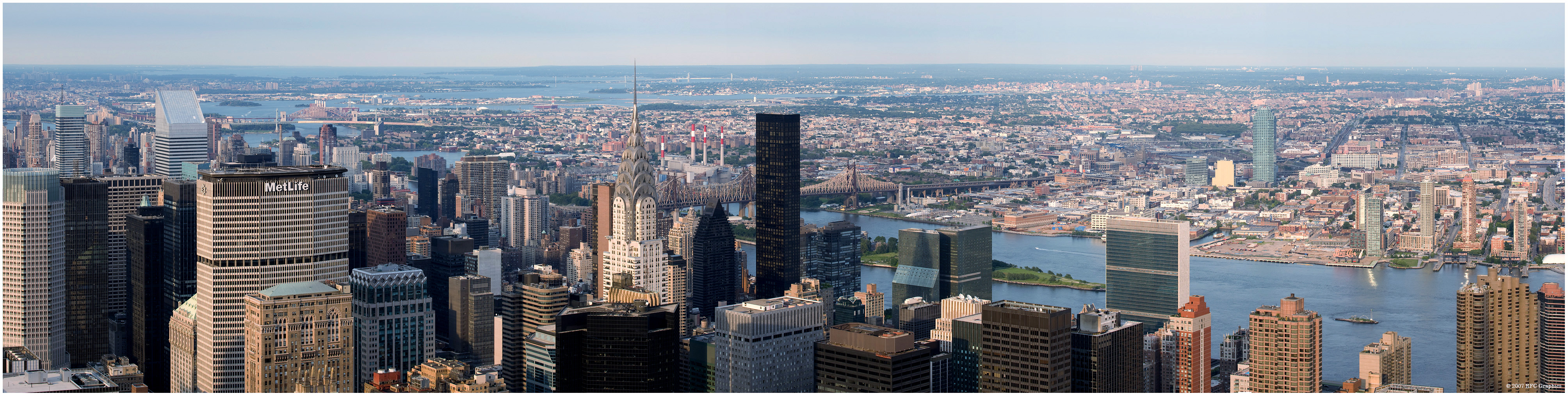 Chrysler Building Panorama