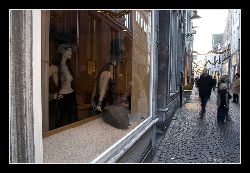 Stokstraat, windowdressing