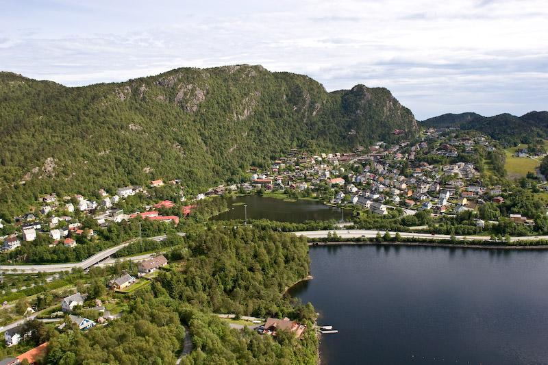 Bergen fra luften-45