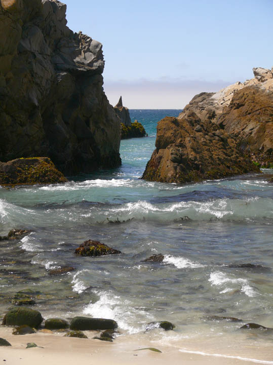 Rocks at Pfeiffer Beach